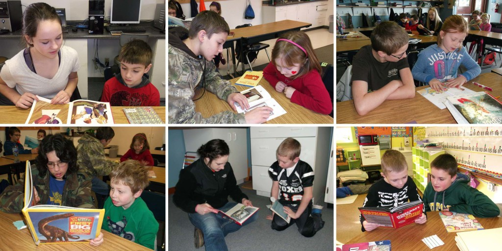 Silver Crest Students Participate in Love of Reading Month