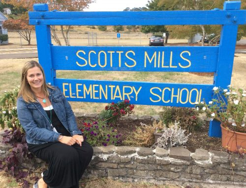 New Principal Sees Super Things Happening at Scotts Mills