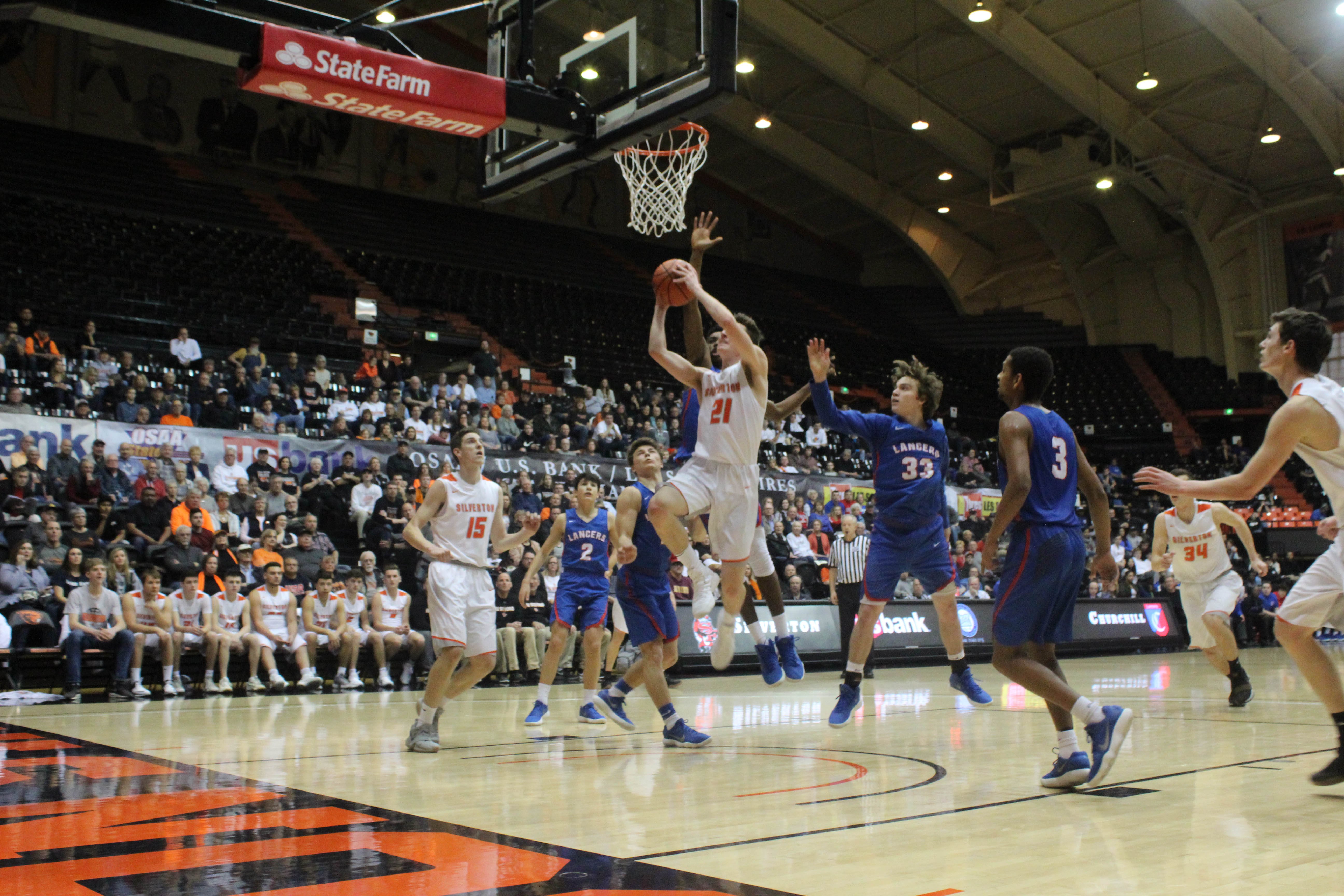 The Silverton Boys Basketball Team took 4th in the State Playoffs