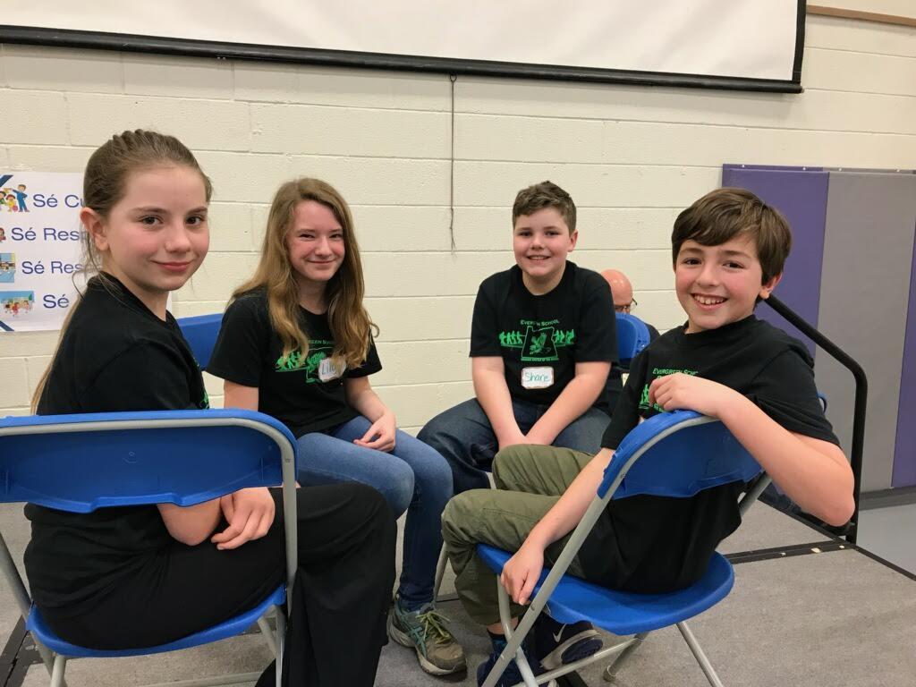 The 2018 Evergreen OBOB team