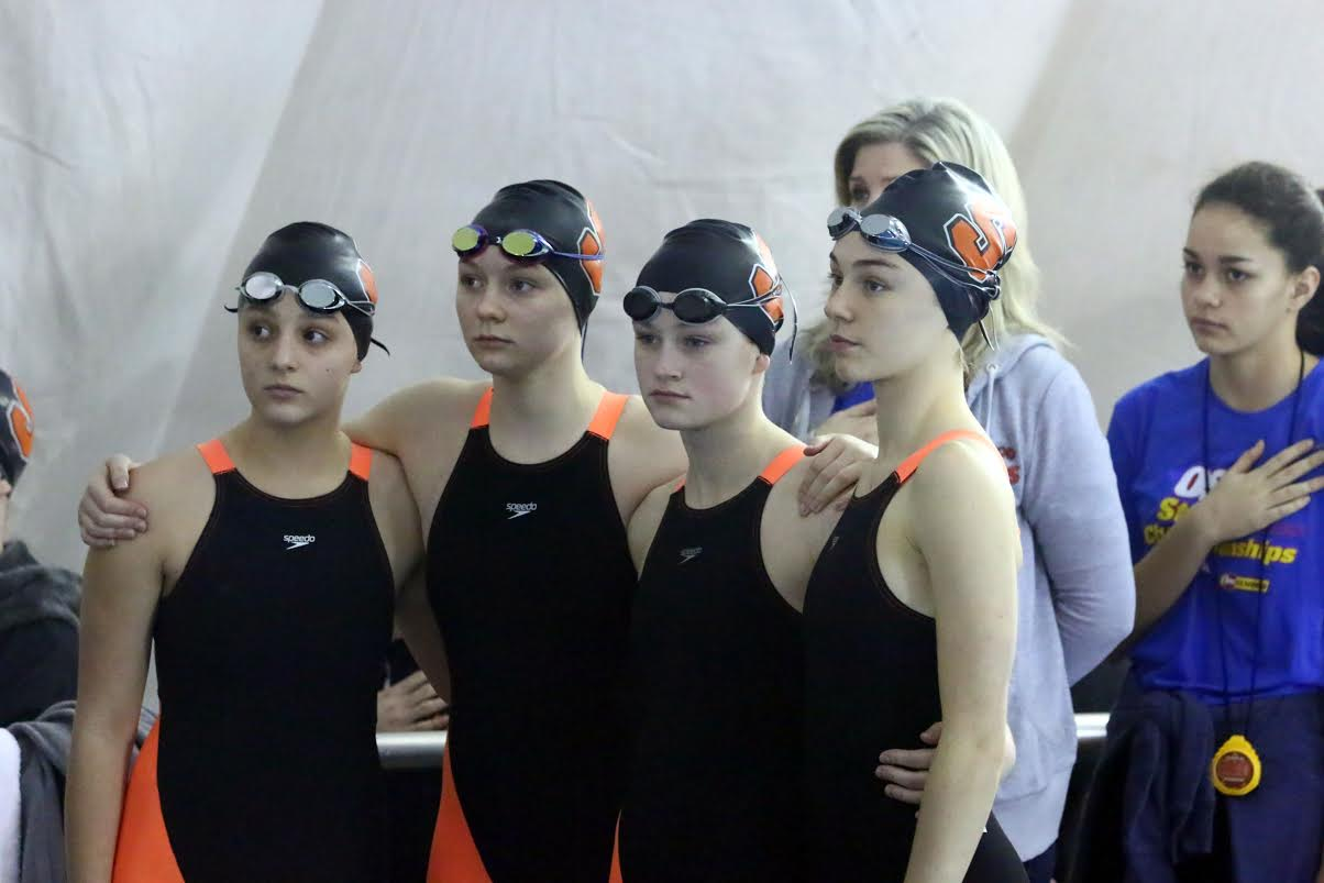 Silverton Swimmers at a meet