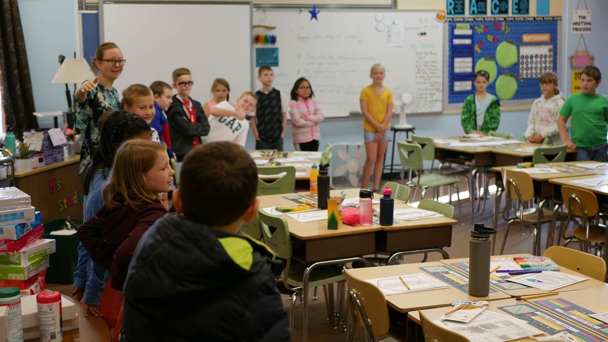 Mrs. Stadeli's Class at Robert Frost School