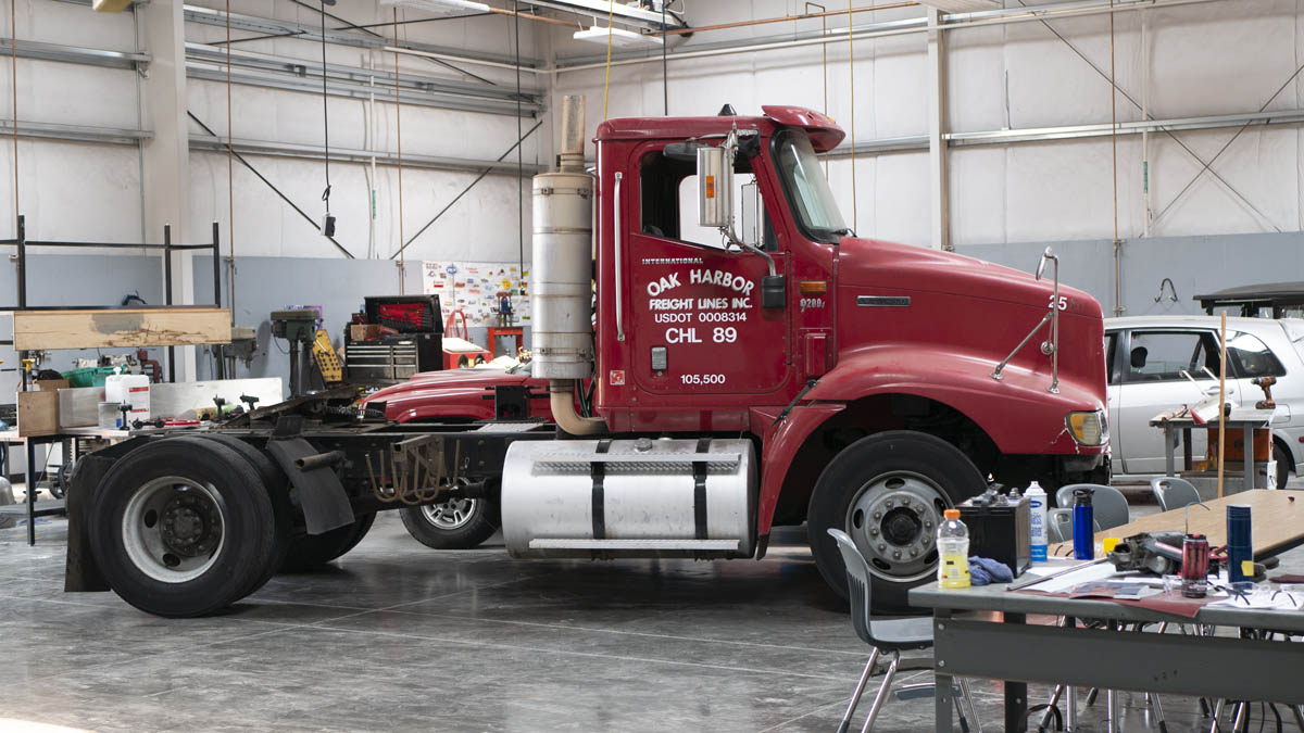 Diesel truck donated to Silverton High School