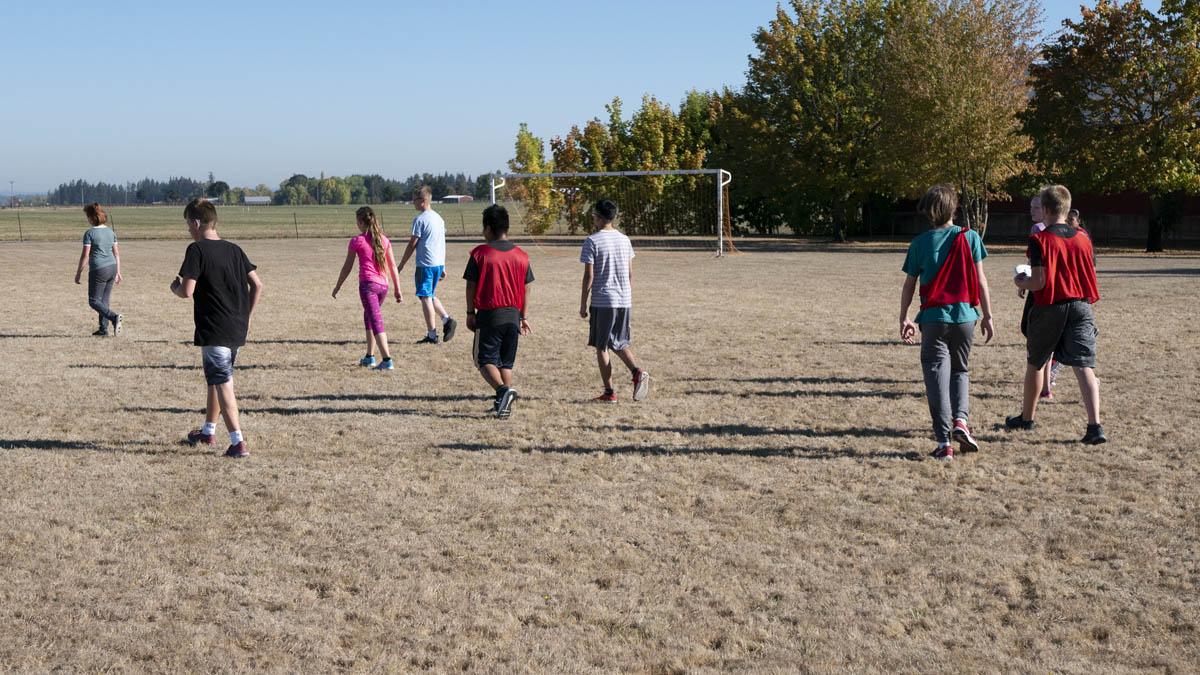 Frisbee Fun at Butte Creek