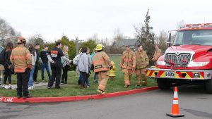 Silverton Fire Department helped gets kid excited about the Protective Services program at SHS